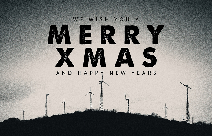We Wish You A Merry Christmas & Happy New Years